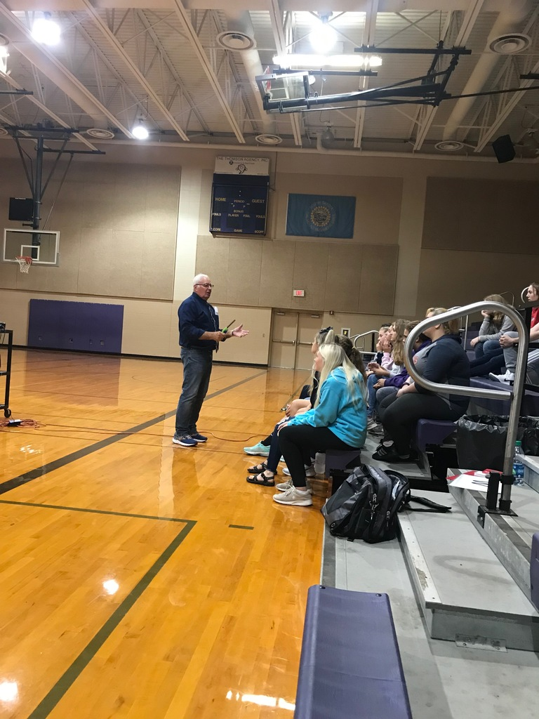 Thank you again Mr. Stulken for visiting with our staff, students, and parents.  We hope everyone was able to take something away from the various topics he touched on.