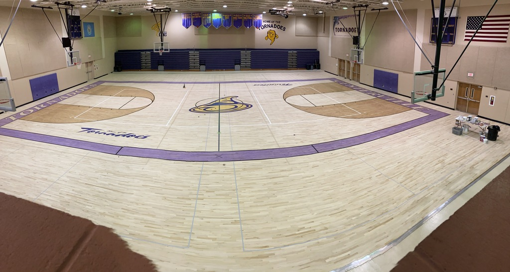 Gym Floor 4 Update
